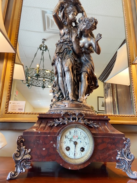 Linda James Antiques Country French Clock