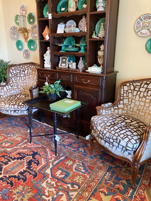 Linda James Antiques French Antique Borgere Chairs