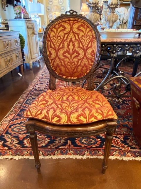 Linda James Antiques French Side Chair