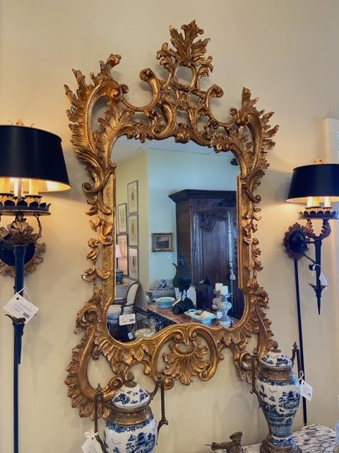 Linda James Antique Gold Mirror